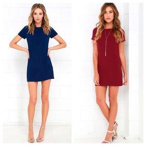 ❤️ Lulus Shift & Shout Dress